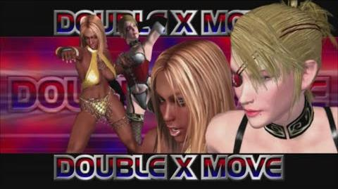 Rumble Roses XX - Double X Move (Double Stretch)