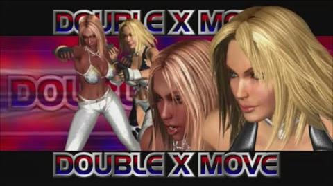 Rumble Roses XX - Double X Move (American Attack)