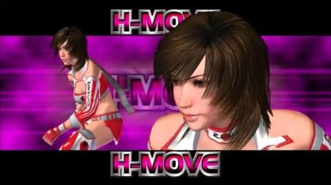 Rumble Roses XX - Reiko Hinomoto H-Move (Lock Type Zero)