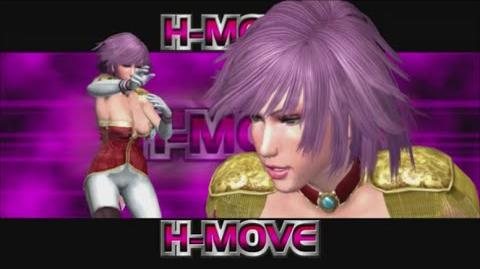 Rumble Roses XX - Noble Rose H-Move (Tombstone Hold)