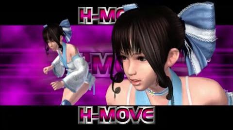 Rumble Roses XX - Makoto Aihara H-Move (Straddling Knee Lock)