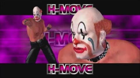 Rumble Roses XX - Sebastian H-Move (Clown Smash)