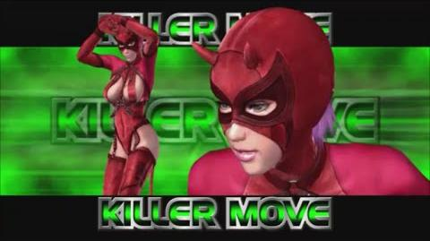 Rumble Roses XX - Evil Rose Killer Move (Rolling Powerbomb)