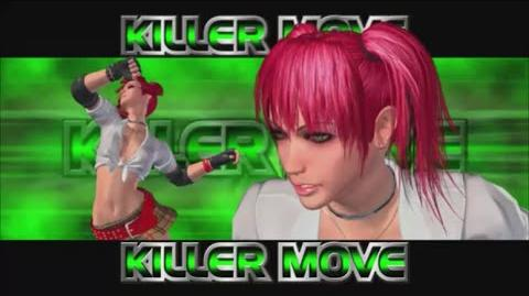 Rumble Roses XX - Candy Cane Killer Move (High School Driver)