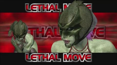 Rumble Roses XX - SS Evil Rose Lethal Move (Screwdriver)