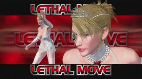 Rumble Roses XX - SS Mistress Spencer Lethal Move (Riding Crop)