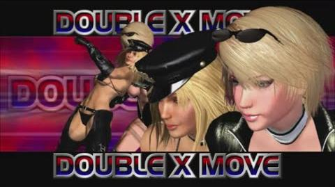 Rumble Roses XX - Double X Move (Sandwich Kick)