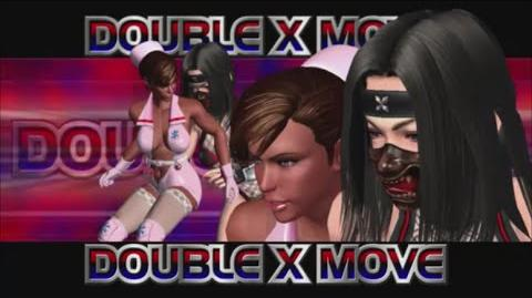 Rumble Roses XX - Double X Move (Quick Drop)