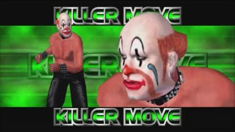 Rumble Roses XX - Sebastian Killer Move (Clown Buster)