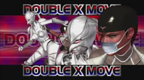Rumble Roses XX - Double X Move (Triple Submission)