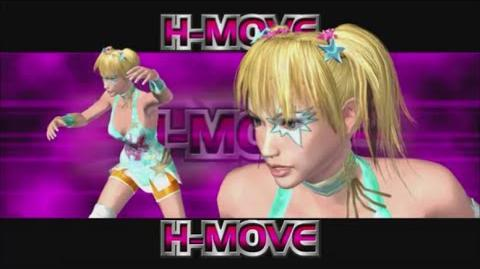 Rumble Roses XX - Becky H-Move (Chicken Wing Cheer Lock)
