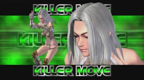 Rumble Roses XX - Yasha Killer Move (Heavenly Kick)