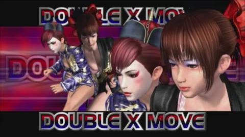 Rumble Roses XX - Double X Move (Tower Of Babel)