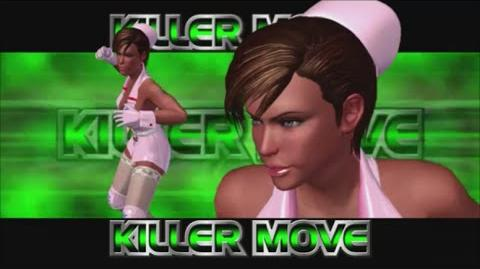 Rumble Roses XX - Anesthesia Killer Move (Criminal Cutter)