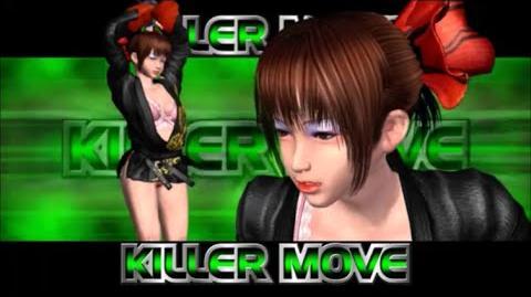 Rumble Roses XX - Black Belt Demon Killer Move (Two Arm Shoulder Throw)