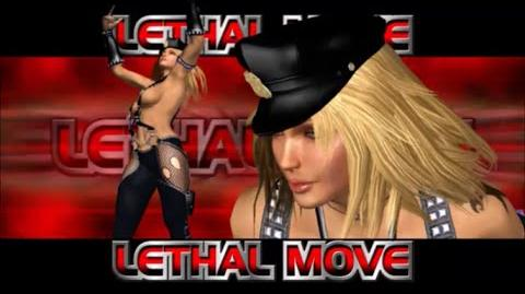 Rumble Roses XX - SS Sgt. Clemets Lethal Move (Nightstick)