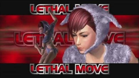 Rumble Roses XX - SS Great Khan Lethal Move (Fire Stick)