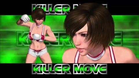 Rumble Roses XX - Reiko Hinomoto Killer Move (Sunrise Suplex)