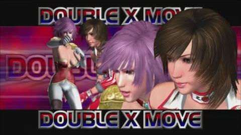 Rumble Roses XX - Double X Move (Kamikaze Superkick)