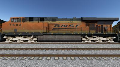 Run8 ES44DC BNSF02