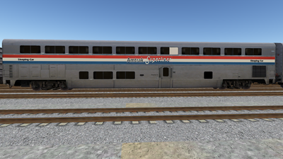 R8 Amtrak SleeperPhsIII