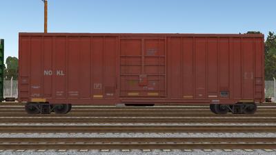 R8 Boxcar 50ft PlateF NOKL01