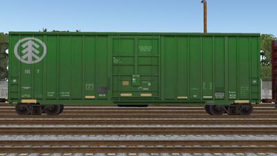 R8 Boxcar 50ft PlateF IB01