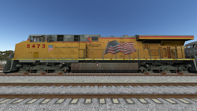 Run8 ES44DC UP01