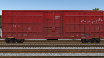 R8 Boxcar 50ft PlateF CAT01