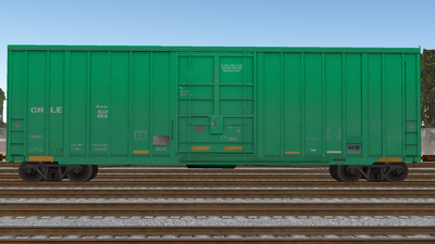 R8 Boxcar 50ft PlateF CR01