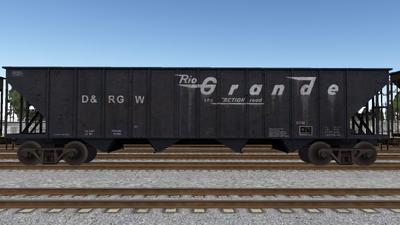 R8 Hopper BSC3483 DRGW