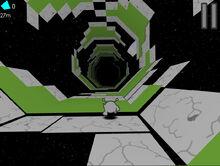 Crumbling tiles