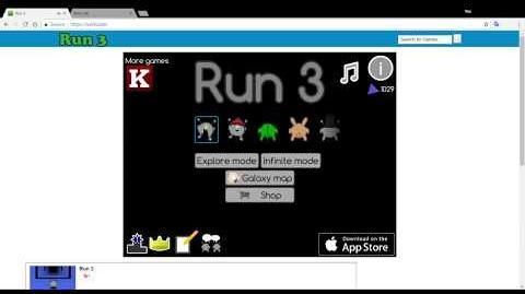 Run 3 glitch