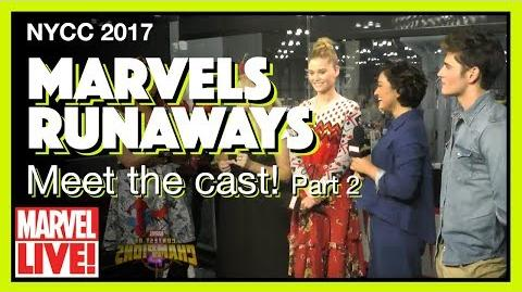 Cast of Marvel's Runaways (Part 2) -- Marvel LIVE! NYCC 2017