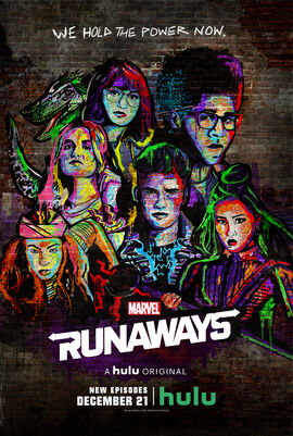 Marvel Runaways Season Two Premiere 11-30-18 Poster