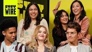 The Cast of Marvel's Runaways Are on the Run NYCC 2019 SYFY WIRE