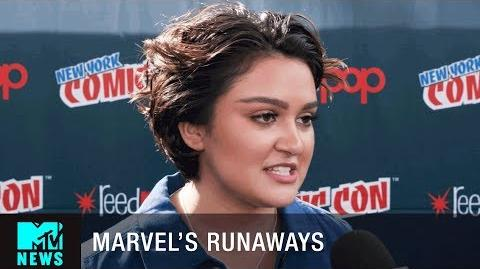 The Cast of 'Marvel's Runaways' Discuss the Comic vs