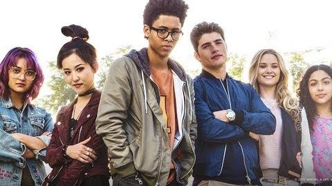 Marvel's RUNAWAYS Cast Interviews at New York Comic Con NYCC 2017