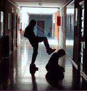 Physical bully