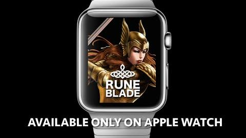 Runeblade - The Desolation Trailer. First Apple Watch Exclusive Role Playing Game