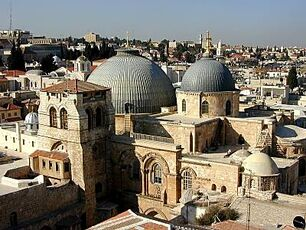 CHURCH OF HOLY SEPULCHER