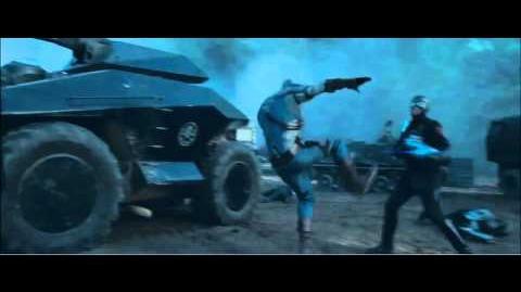 Captain America - Shield Fight