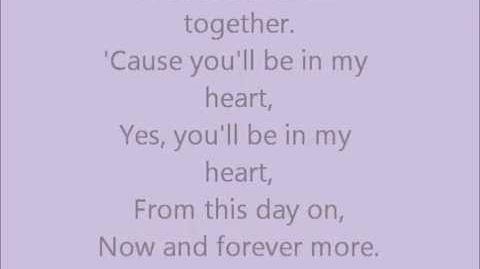Phil Collins - You'll Be In My Heart (lyrics)