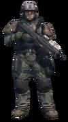 Halo Reach - UNSC Army Infantryman Standing
