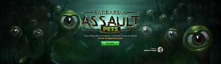Barbarian Assault Pets head banner