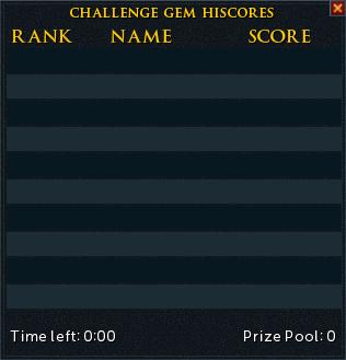 Challenge shard scoreboard