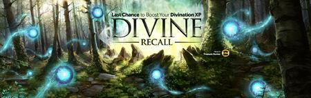 Divine Recall last chance head banner