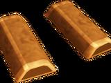 Gold wedge key