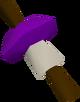 Purple firelighter detail