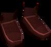 Silken boots (pink, male) detail